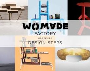 WOMADE presenta DESIGN STEPS in Via Tortona