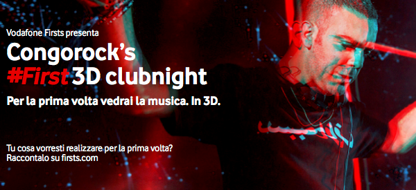 Vedremo la musica in 3D: #FIRSTS