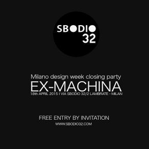 DESIGN WEEK CLOSING PARTY 2015 // FREE ENTRY