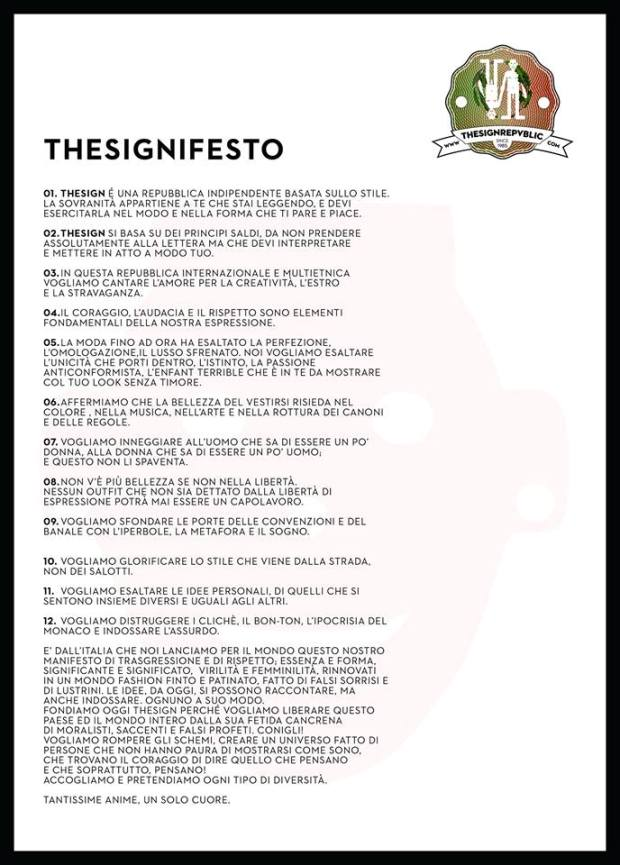 THESIGNFESTO ITA